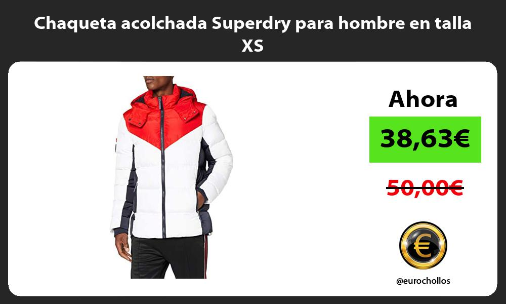 Chaqueta acolchada Superdry para hombre en talla XS