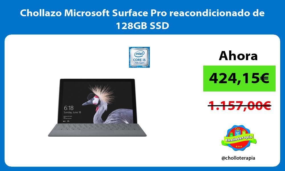 Chollazo Microsoft Surface Pro reacondicionado de 128GB SSD