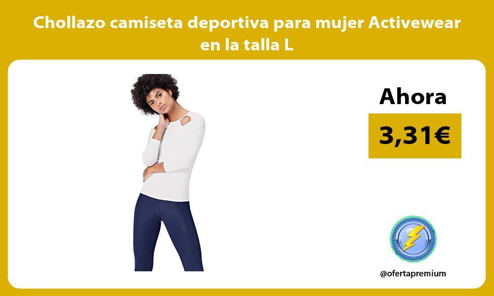 Chollazo camiseta deportiva para mujer Activewear en la talla L
