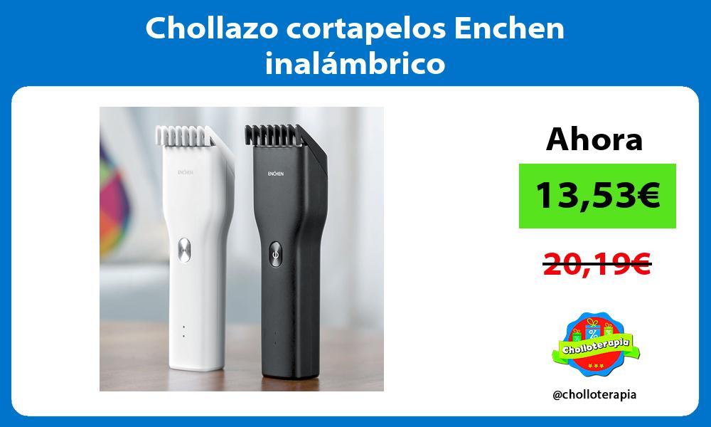 Chollazo cortapelos Enchen inalámbrico