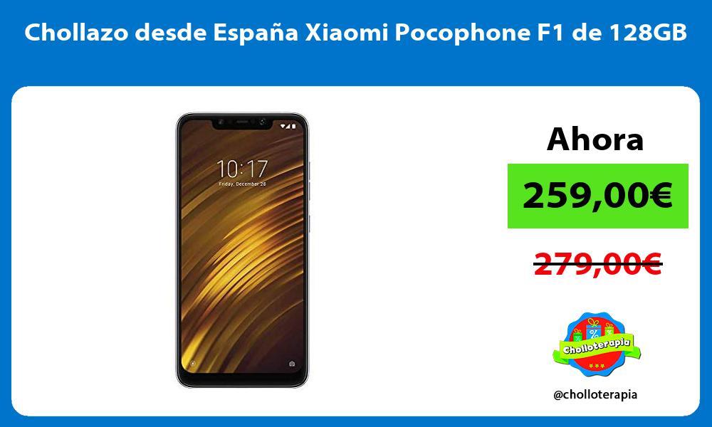 Chollazo desde España Xiaomi Pocophone F1 de 128GB