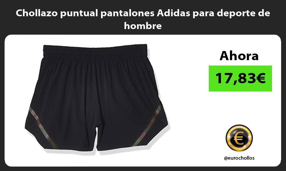 Chollazo puntual pantalones Adidas para deporte de hombre