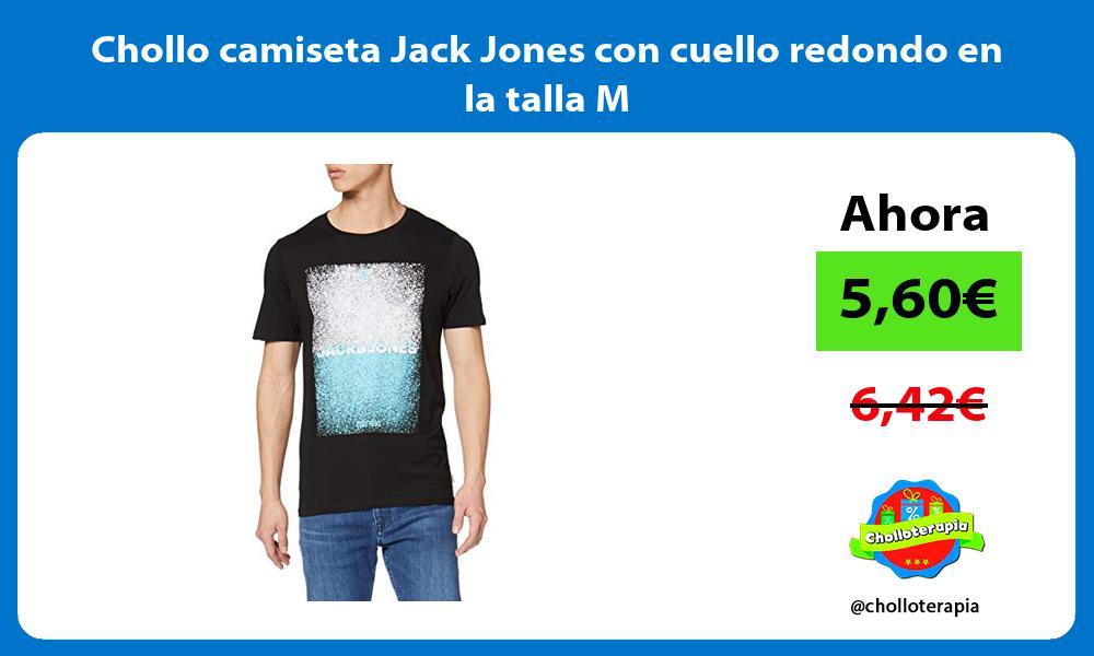 Chollo camiseta Jack Jones con cuello redondo en la talla M