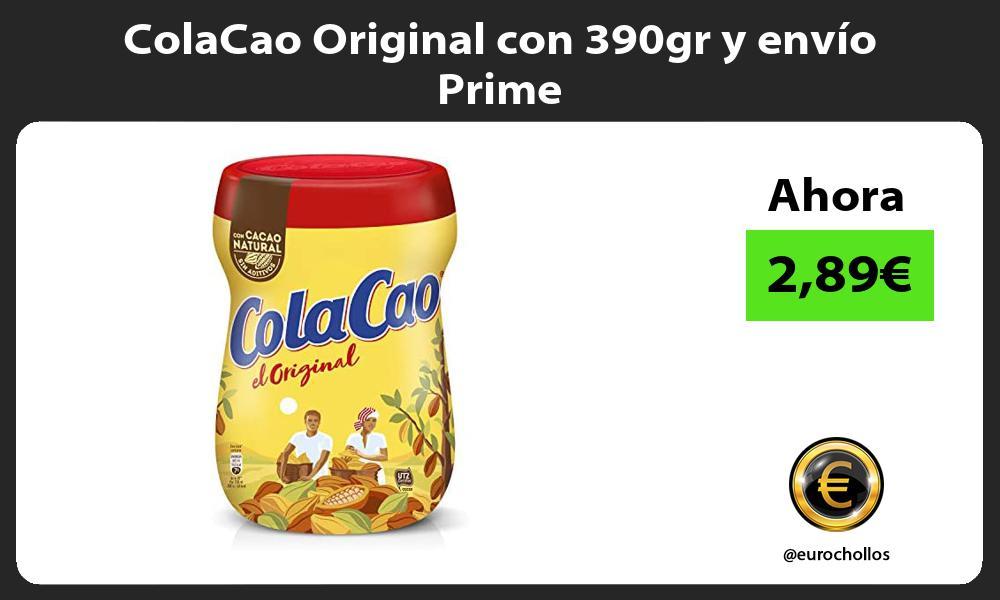 ColaCao Original con 390gr y envío Prime