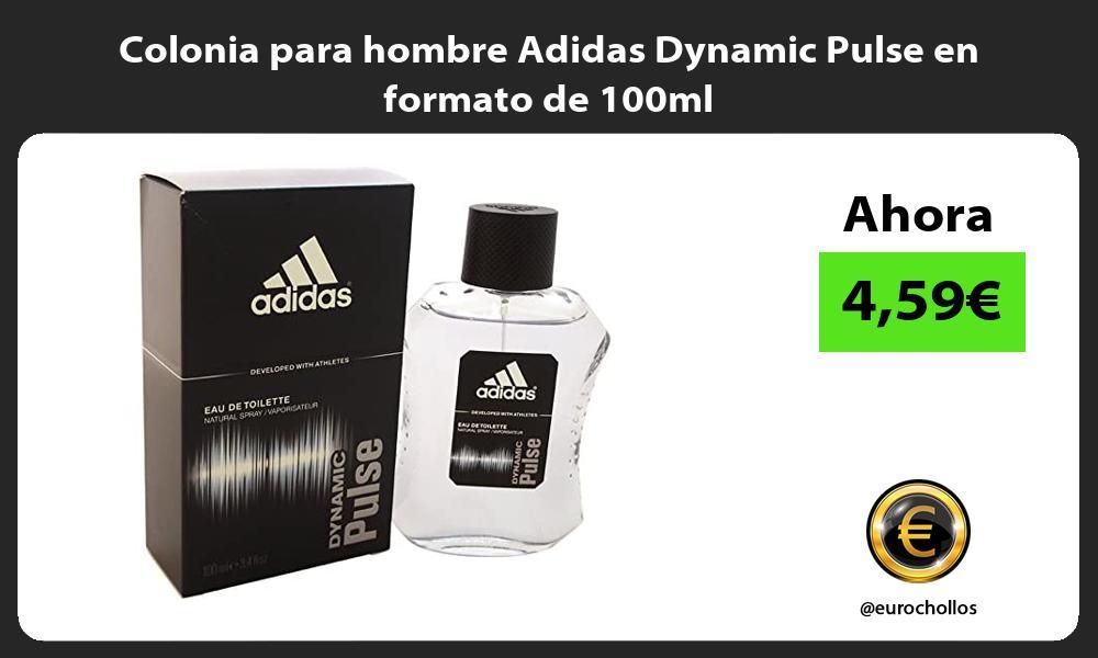 Colonia para hombre Adidas Dynamic Pulse en formato de 100ml