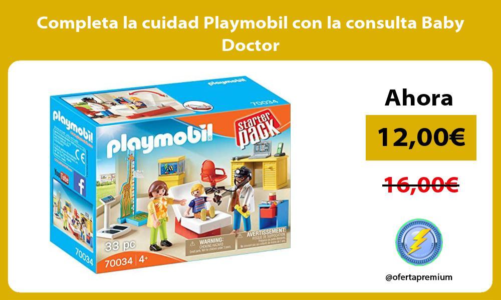 Completa la cuidad Playmobil con la consulta Baby Doctor