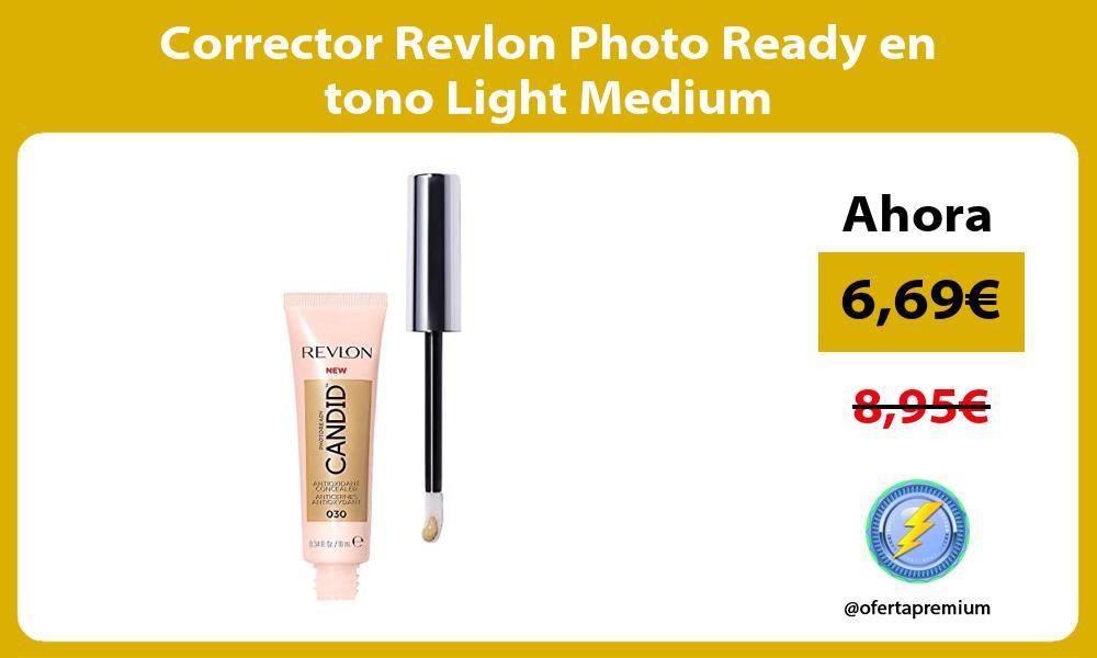 Corrector Revlon Photo Ready en tono Light Medium