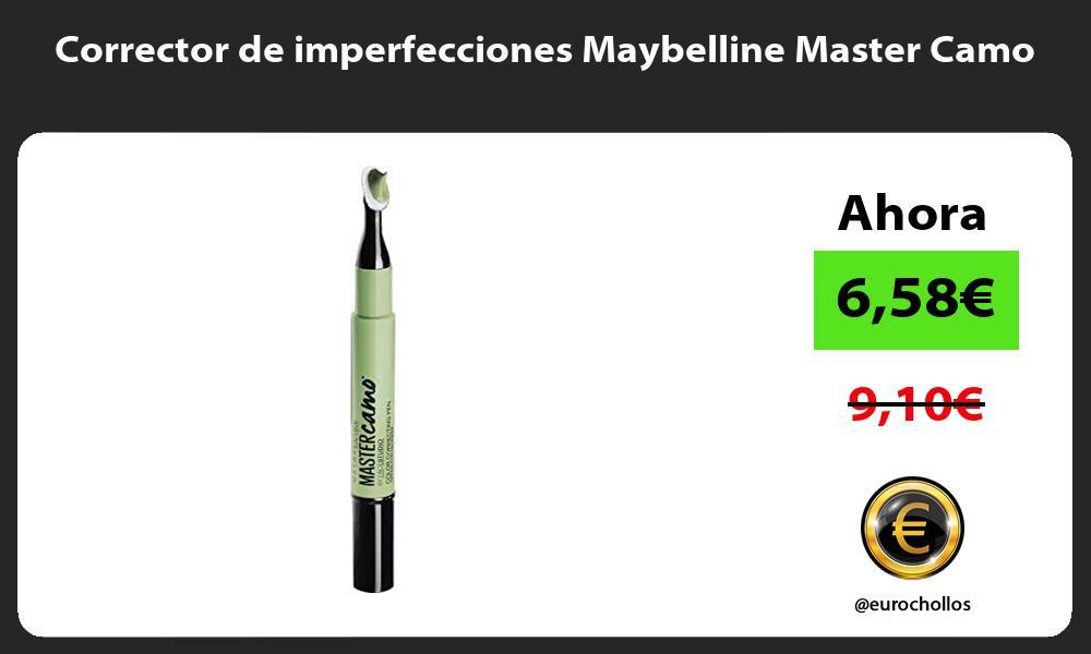 Corrector de imperfecciones Maybelline Master Camo