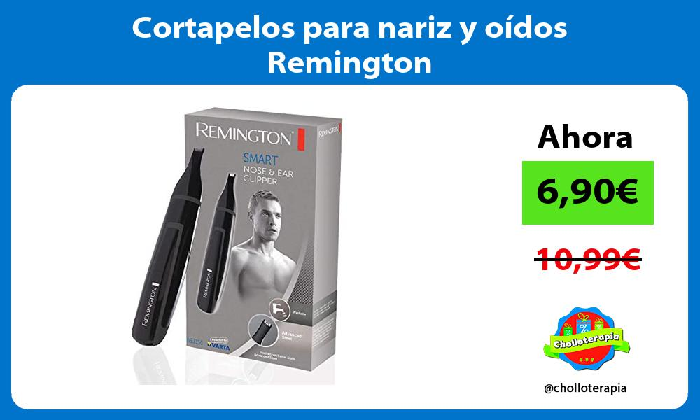Cortapelos para nariz y oídos Remington