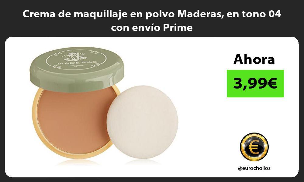 Crema de maquillaje en polvo Maderas en tono 04 con envío Prime
