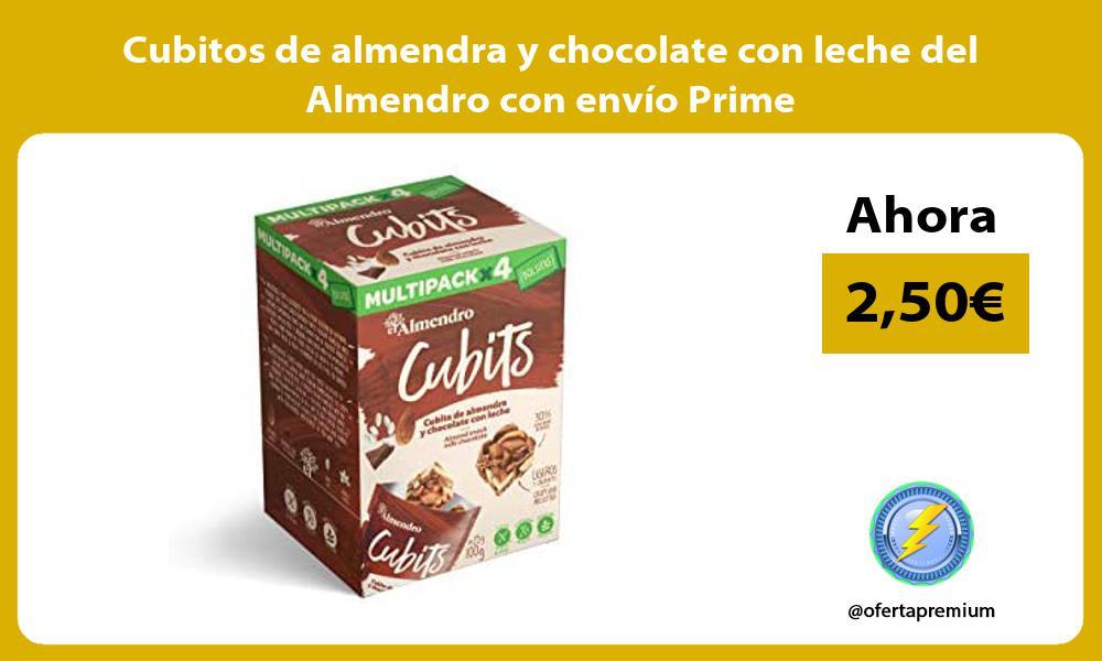 Cubitos de almendra y chocolate con leche del Almendro con envío Prime