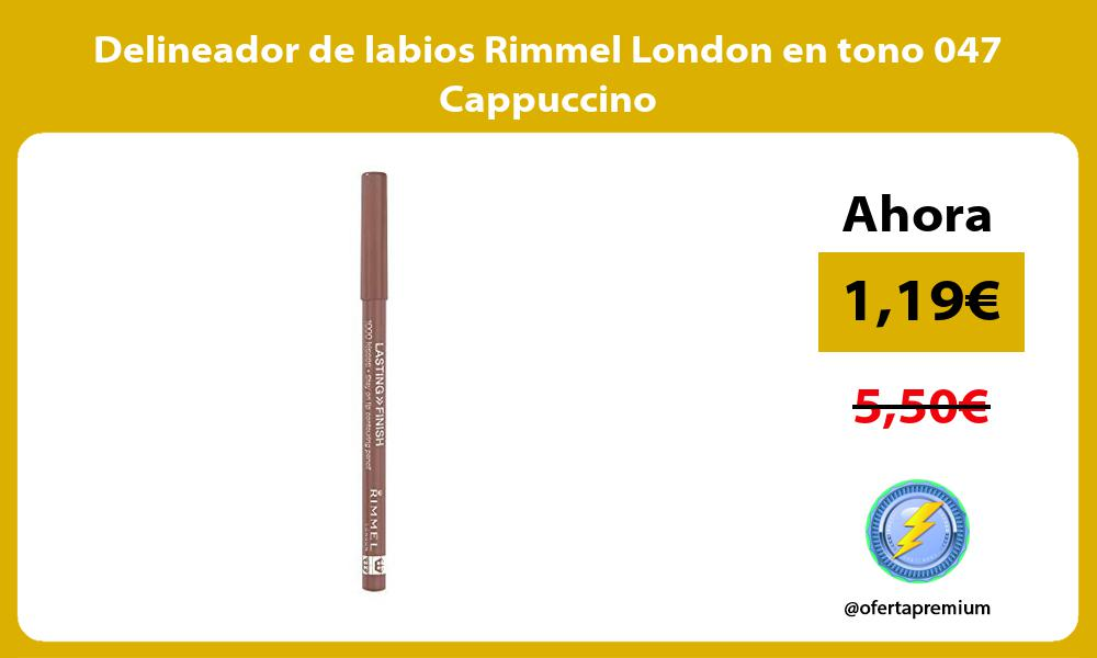 Delineador de labios Rimmel London en tono 047 Cappuccino