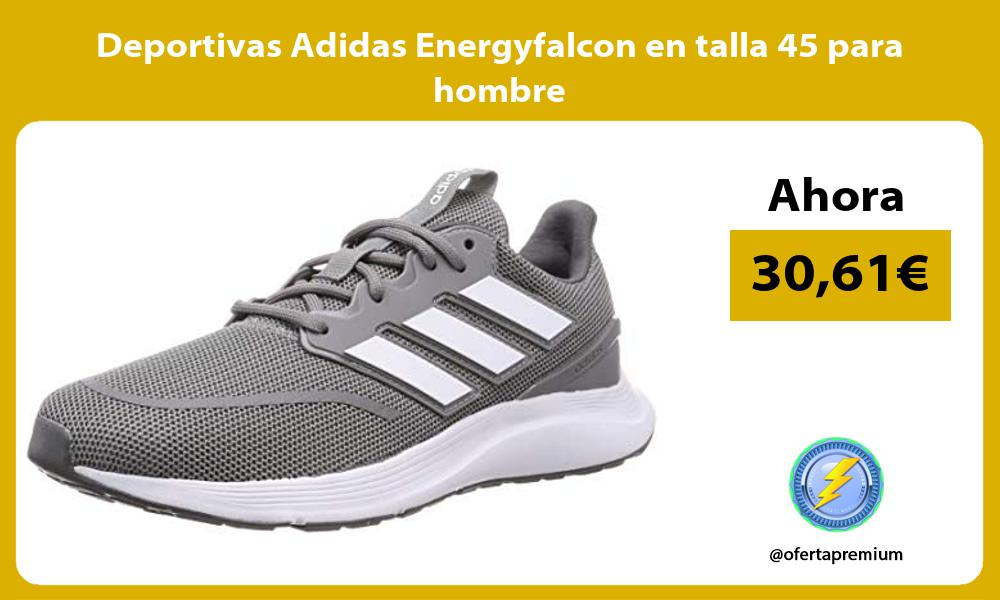 Deportivas Adidas Energyfalcon en talla 45 para hombre