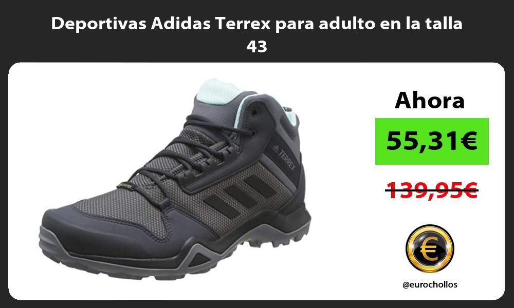 Deportivas Adidas Terrex para adulto en la talla 43