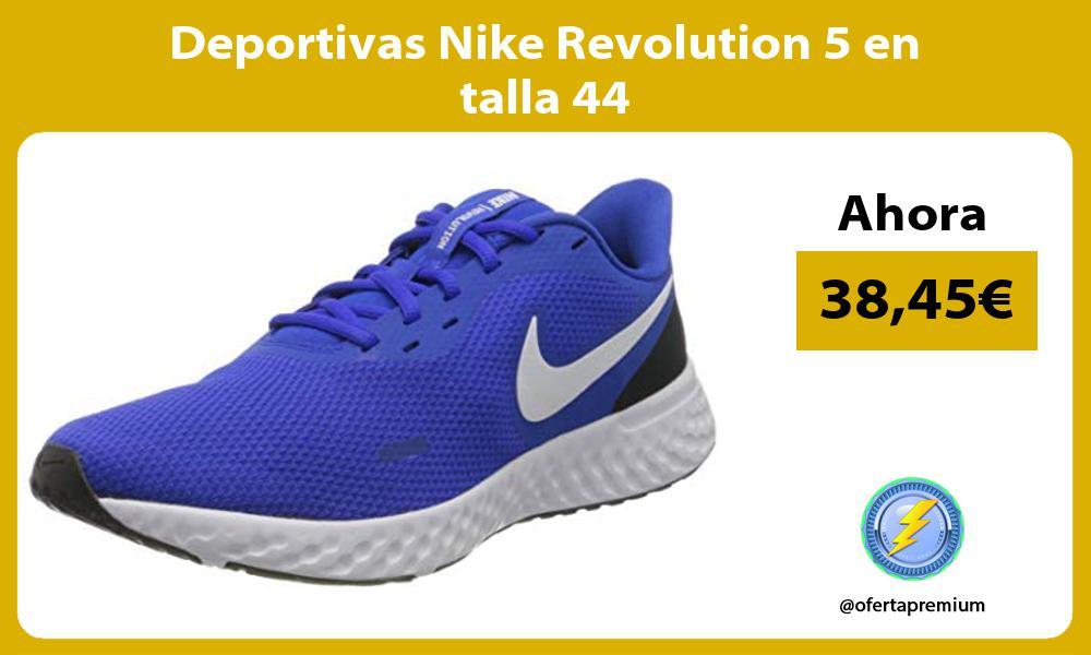 Deportivas Nike Revolution 5 en talla 44