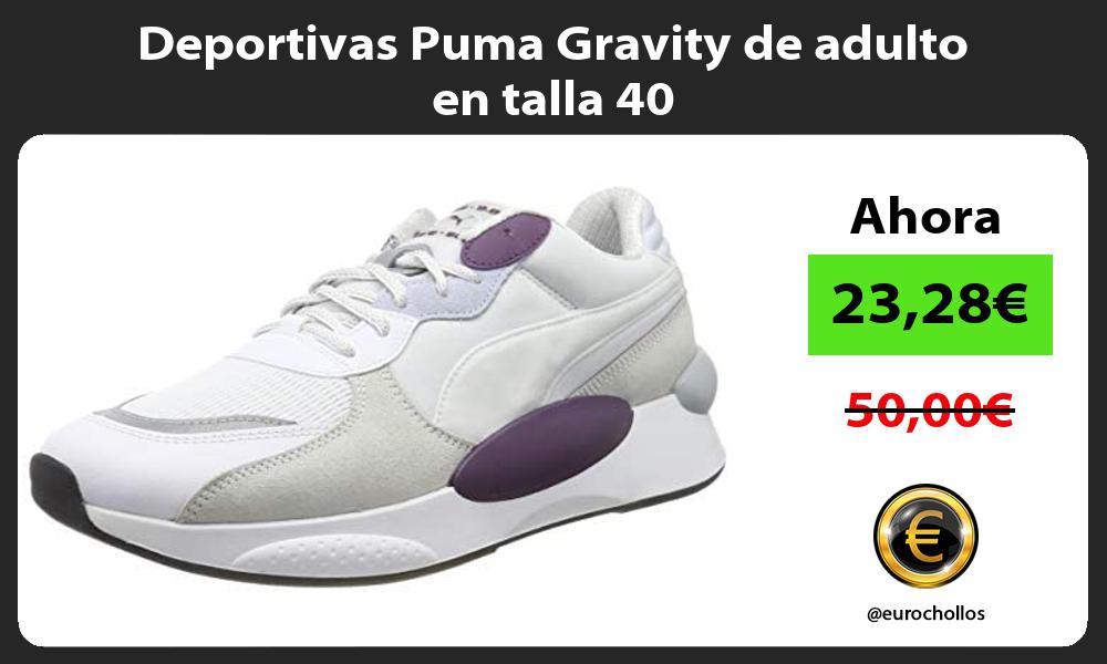Deportivas Puma Gravity de adulto en talla 40