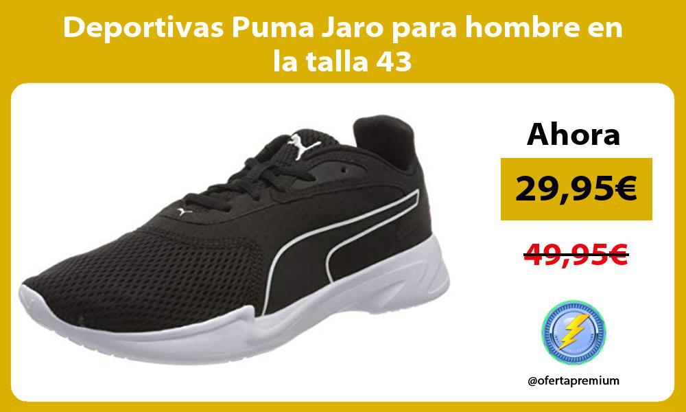 Deportivas Puma Jaro para hombre en la talla 43
