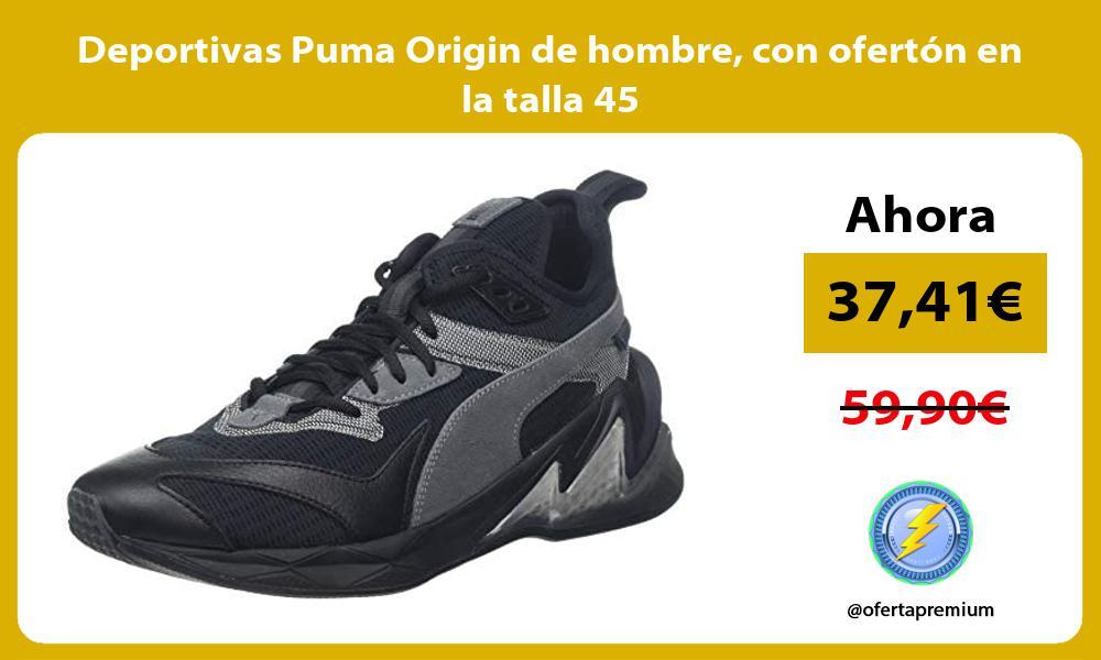 Deportivas Puma Origin de hombre con ofertón en la talla 45