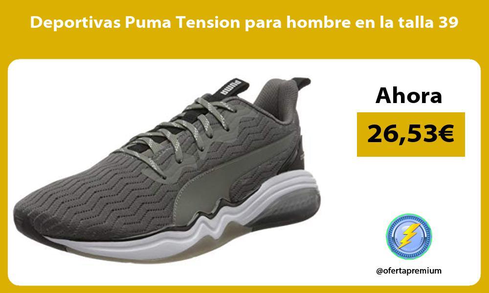 Deportivas Puma Tension para hombre en la talla 39