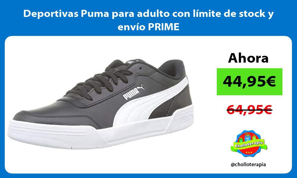 Deportivas Puma para adulto con límite de stock y envío PRIME