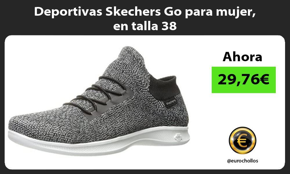 Deportivas Skechers Go para mujer en talla 38