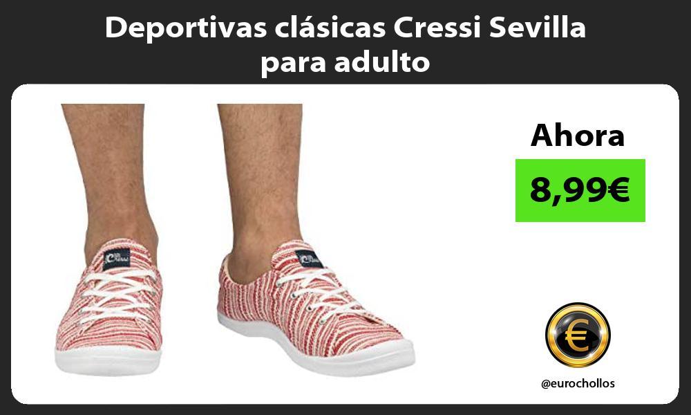 Deportivas clásicas Cressi Sevilla para adulto