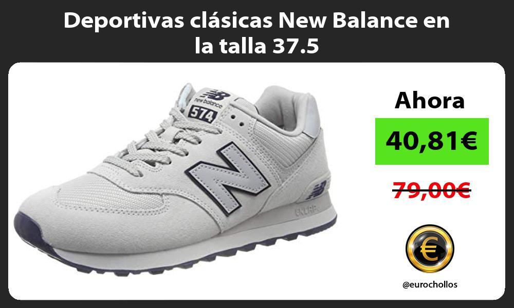 Deportivas clásicas New Balance en la talla 37 5