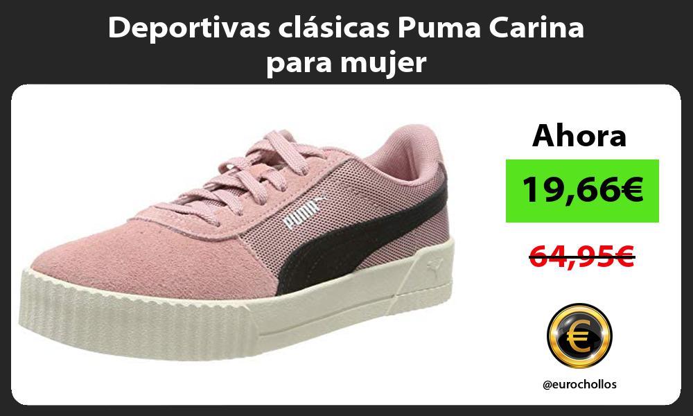 Deportivas clásicas Puma Carina para mujer