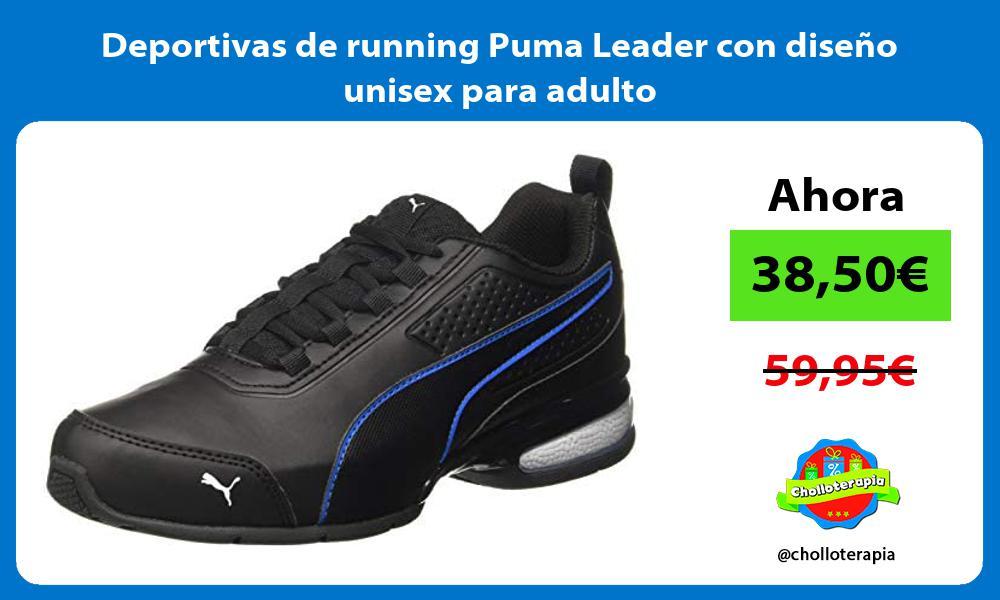 Deportivas de running Puma Leader con diseño unisex para adulto