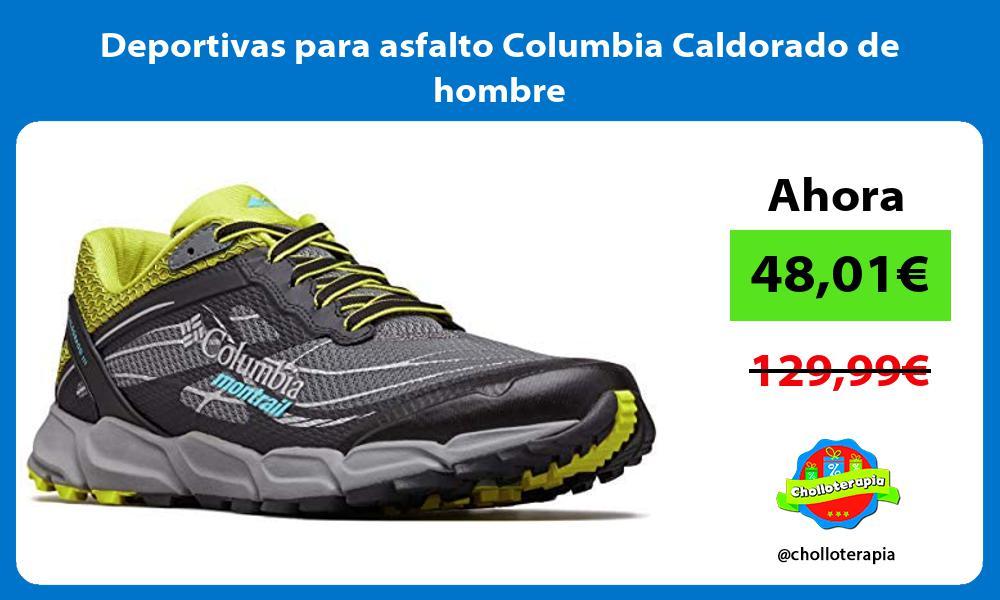 Deportivas para asfalto Columbia Caldorado de hombre