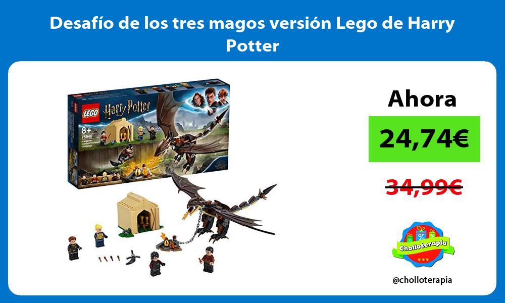 Desafío de los tres magos versión Lego de Harry Potter