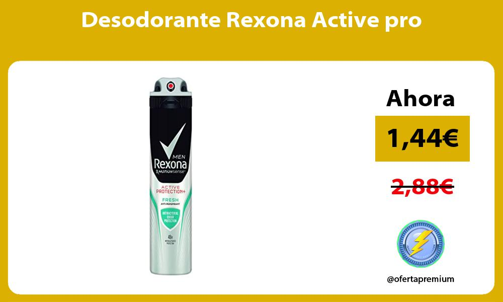 Desodorante Rexona Active pro