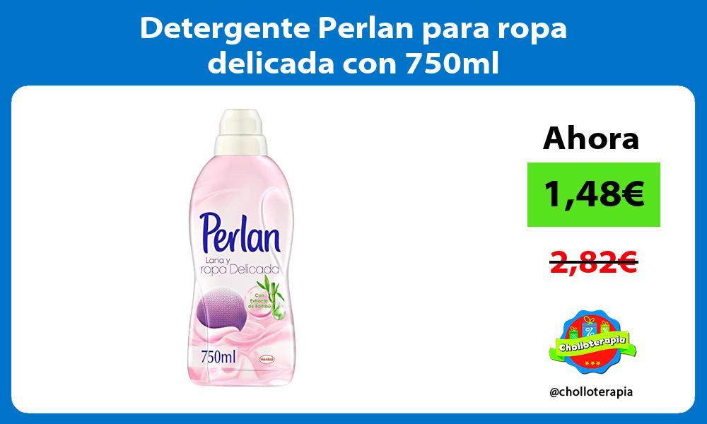 Detergente Perlan para ropa delicada con 750ml