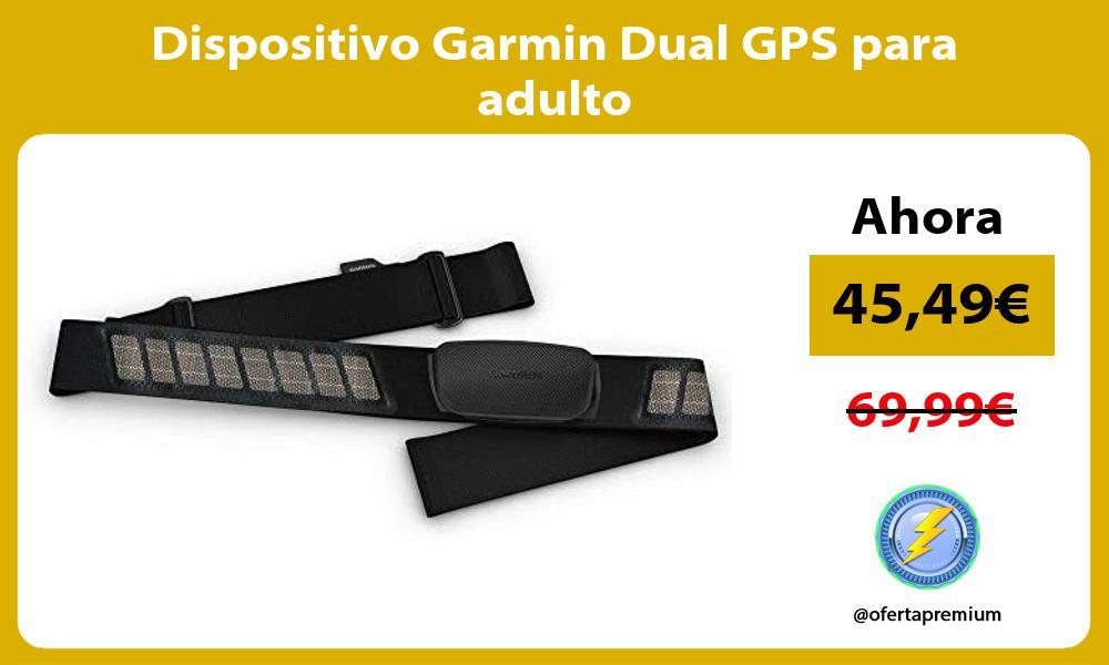 Dispositivo Garmin Dual GPS para adulto