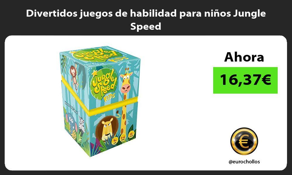 Divertidos juegos de habilidad para niños Jungle Speed