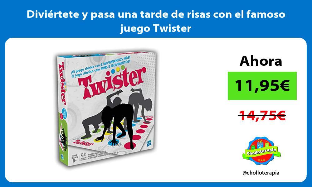 Diviértete y pasa una tarde de risas con el famoso juego Twister