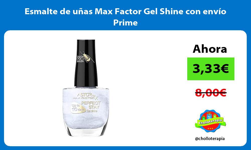 Esmalte de uñas Max Factor Gel Shine con envío Prime