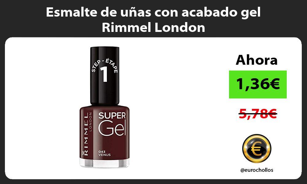 Esmalte de uñas con acabado gel Rimmel London