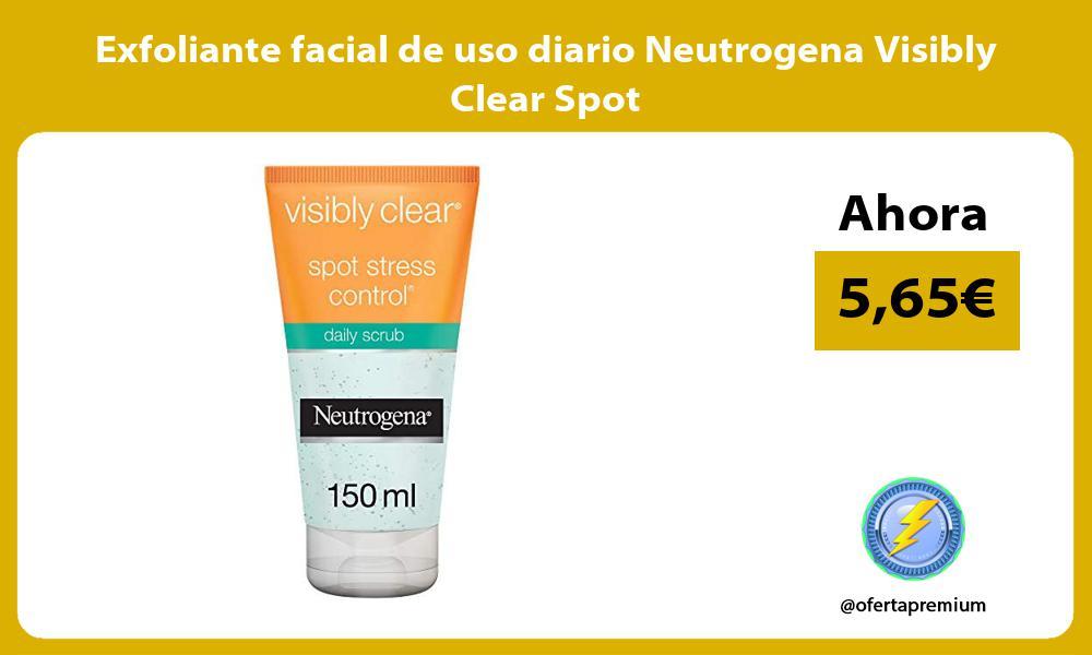 Exfoliante facial de uso diario Neutrogena Visibly Clear Spot
