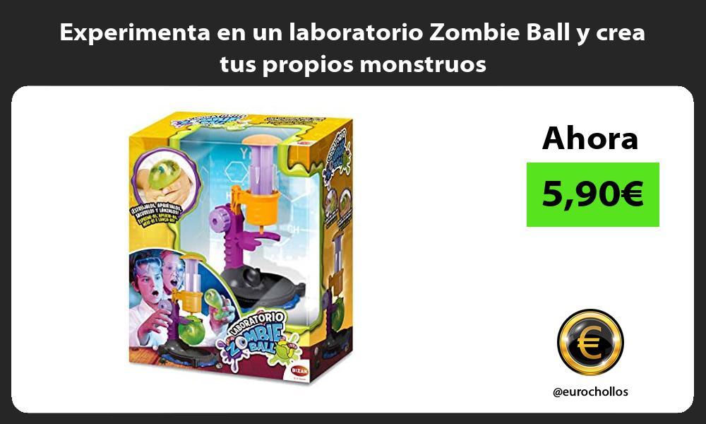 Experimenta en un laboratorio Zombie Ball y crea tus propios monstruos