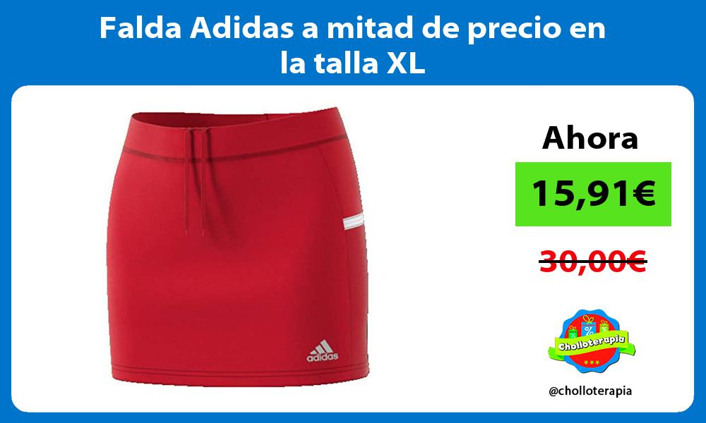 Falda Adidas a mitad de precio en la talla XL