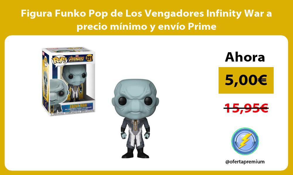 Figura Funko Pop de Los Vengadores Infinity War a precio mínimo y envío Prime