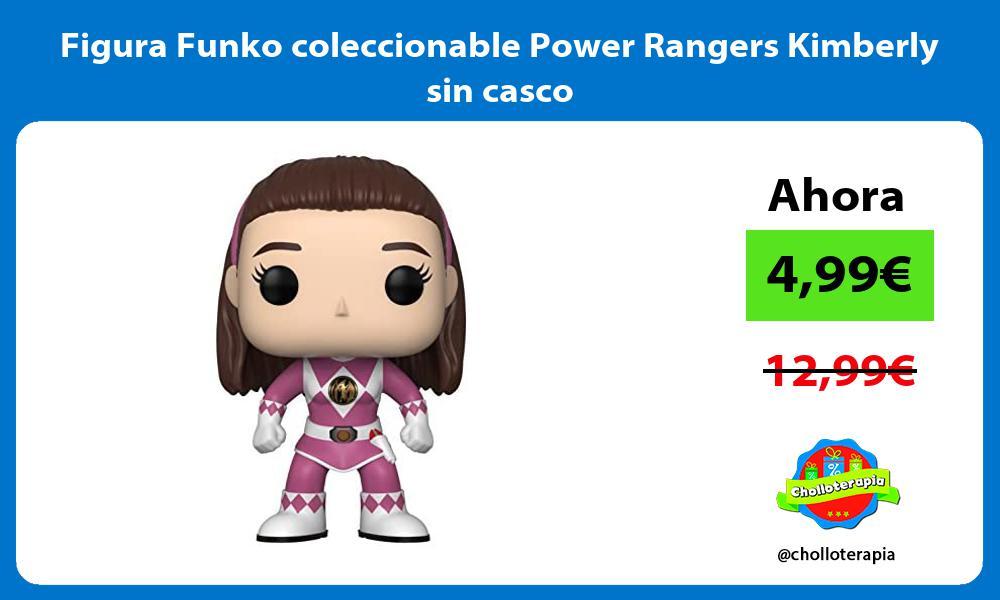 Figura Funko coleccionable Power Rangers Kimberly sin casco