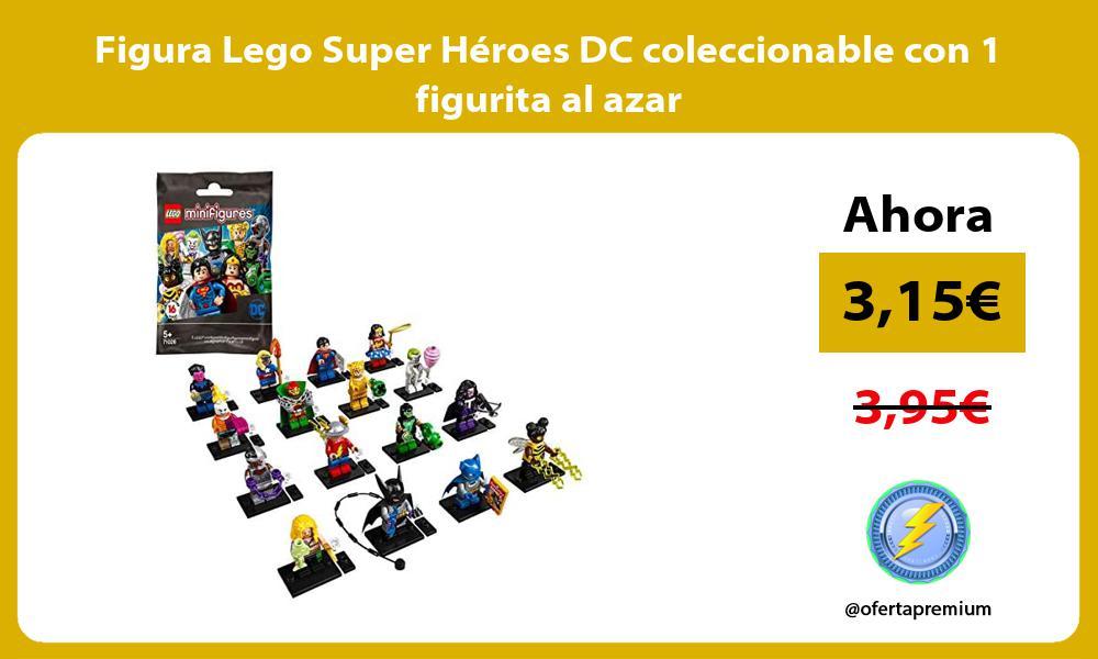 Figura Lego Super Héroes DC coleccionable con 1 figurita al azar