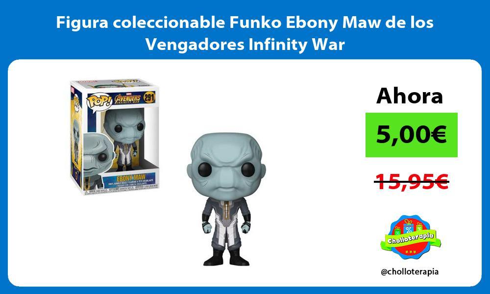 Figura coleccionable Funko Ebony Maw de los Vengadores Infinity War