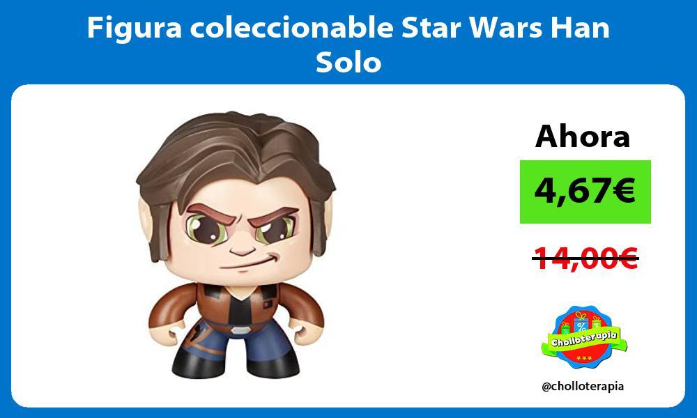Figura coleccionable Star Wars Han Solo
