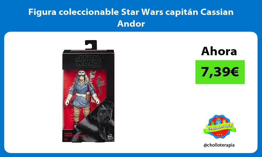 Figura coleccionable Star Wars capitán Cassian Andor