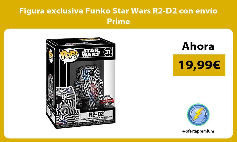 Figura exclusiva Funko Star Wars R2 D2 con envío Prime