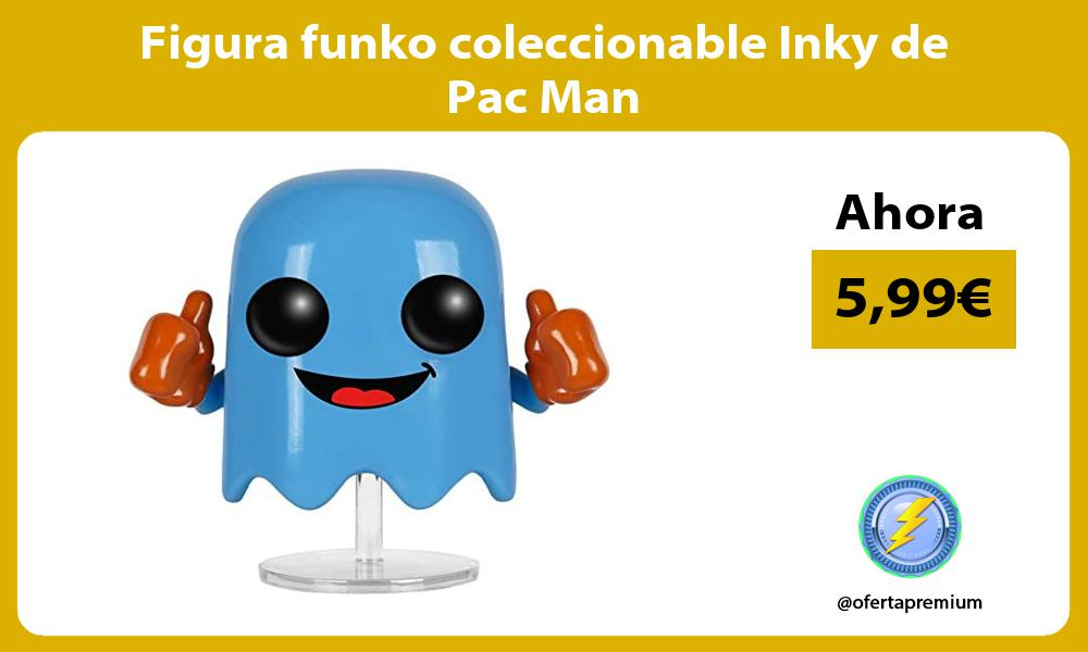 Figura funko coleccionable Inky de Pac Man
