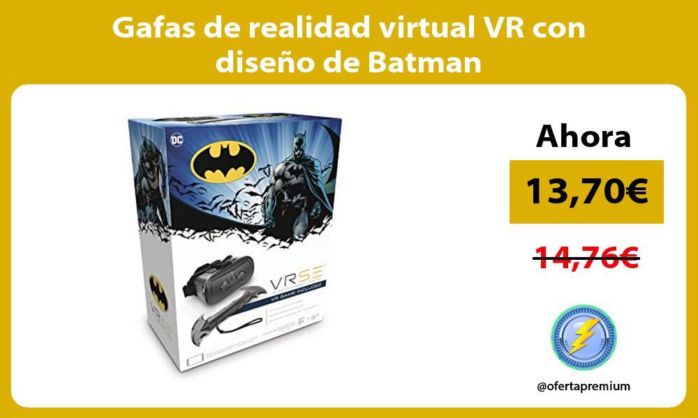 Gafas de realidad virtual VR con diseño de Batman